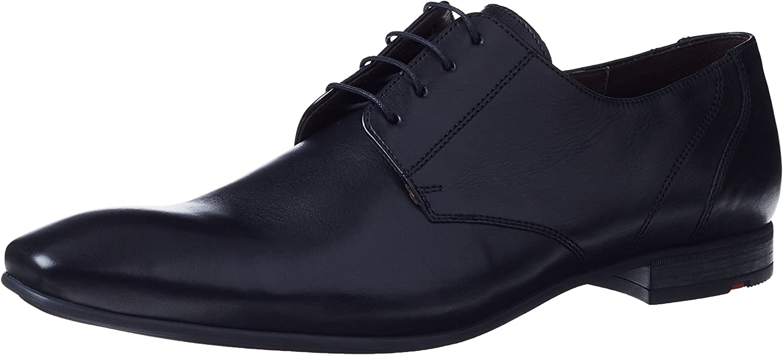 Lloyd herr svart Powell läder Derby skor -UK -UK -UK 12  Vi erbjuder olika kända varumärken