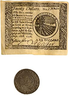 Replica Colonial Coin and Banknote Set