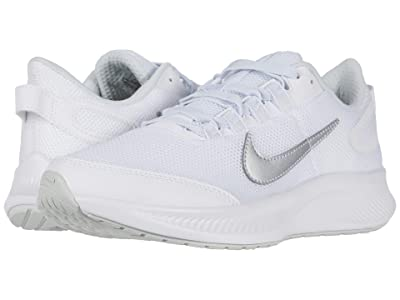 Nike Run All Day 2 (White/Metallic Silver/Pure Platinum) Women