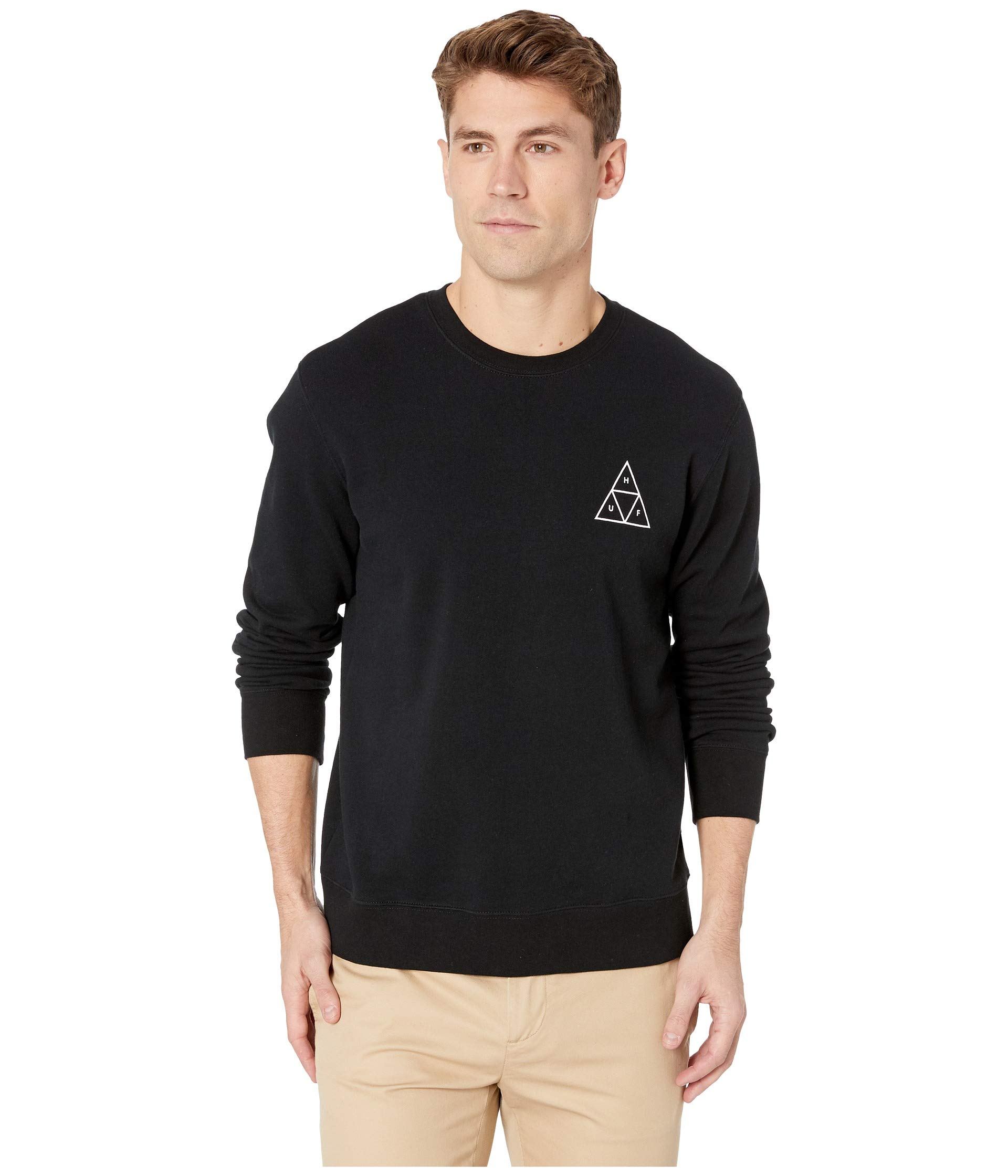 Tt Huf Essentials Huf Tt Crew Black Essentials Tt Huf Black Essentials Crew dzYqqwOx
