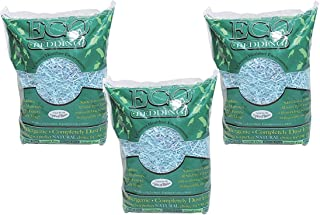 (3 Pack) Fibercore Eco Bedding for Small Pet, Blue - 1.5 Pound each