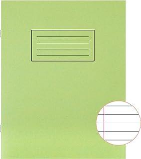 Silvine książka ćwiczeniowa z linijką i marginesem 80 stron 229 x 178 mm zielony ref EX102 [opakowanie 10]