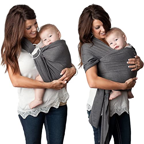 739758c8b84 4 in 1 Baby Wrap Carrier and Ring Sling by Kids N  Such