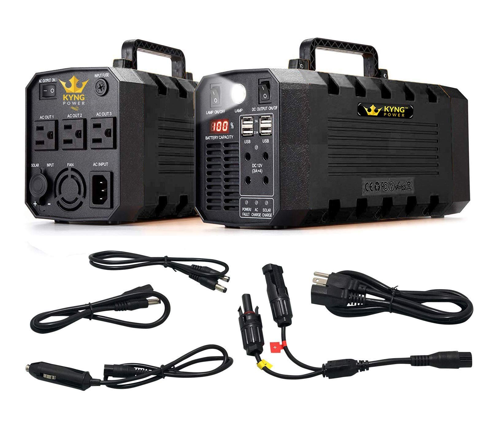 Kyng Power Generator Continuous Rechargeable