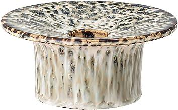 Bloomingville Green Speckled Stoneware Taper Holder