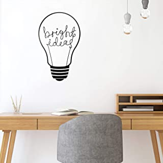 Vinyl Wall Art Decal - Bright Ideas - 30