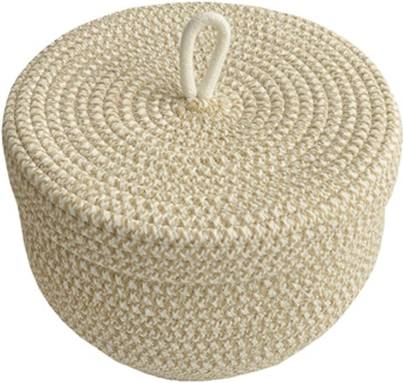 ZFF Egg Basket - Japanese Sacramento Mall Rope Cotton Storage Style Price reduction Woven