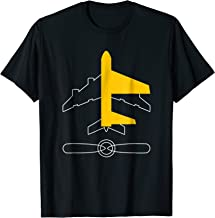 Aeronautical Pilot flight engineer propeller tee shirt gift