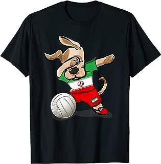 Dabbing Dog Volleyball Iran Jersey Iranian Sport Team Shirt