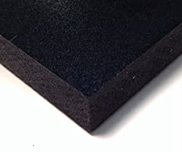 PVC Foam Board Sheet (Celtec) - Black - 24 IN x 48 IN x 6 MM Thick