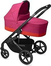 CYBEX Gold Kombikinderwagen Balios S mit Kinderwagenaufsatz Cot S, Ab Geburt bis 17 kg ca. 4 Jahre, Fancy Pink