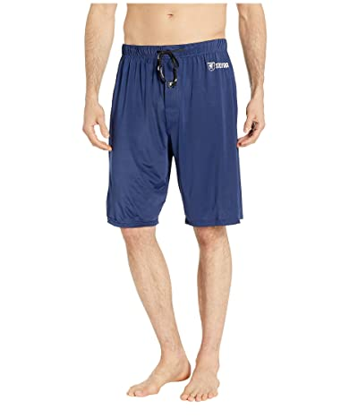 Stacy Adams Regular Sleep Shorts (Navy) Men