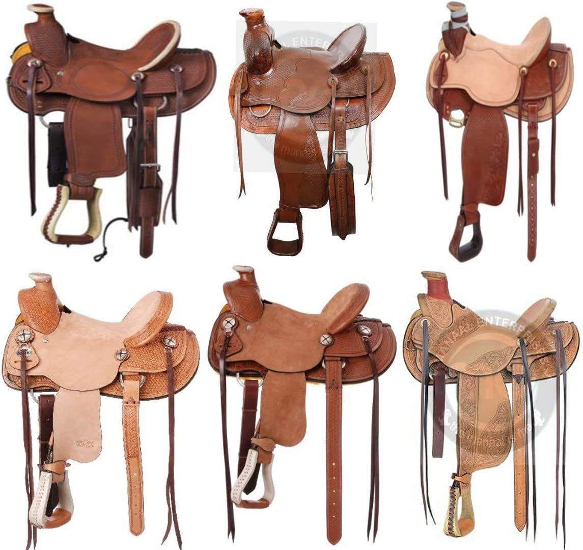 HORSE SADDLERY Dedication IMPEX A Fork Wade Premium Ranking TOP12 Ro Leather Tree Western