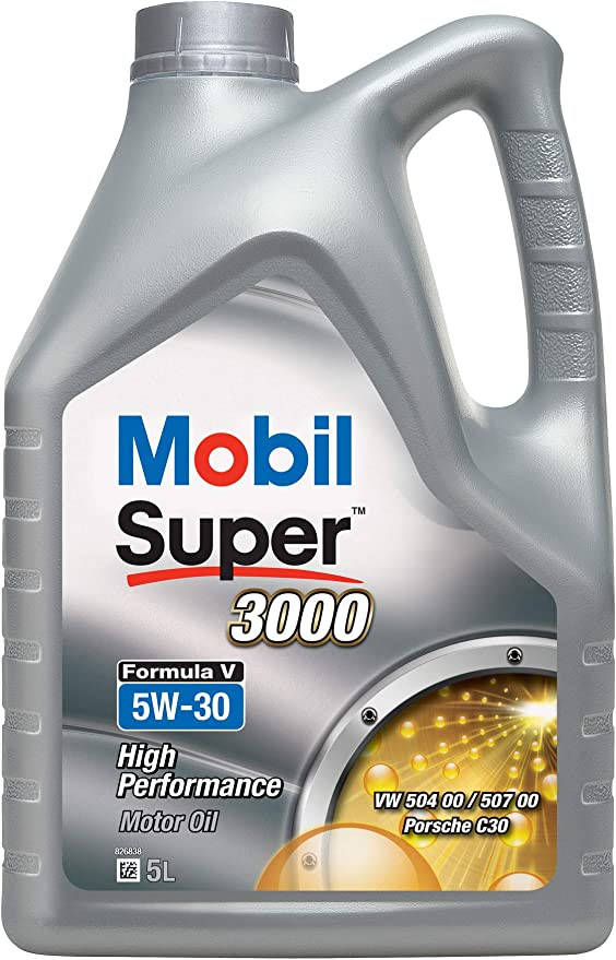 Mobil 154447 Super 3000 Formula V 5w 30 5l Auto