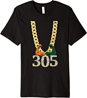 Miami Football 305 Premium T-Shirt