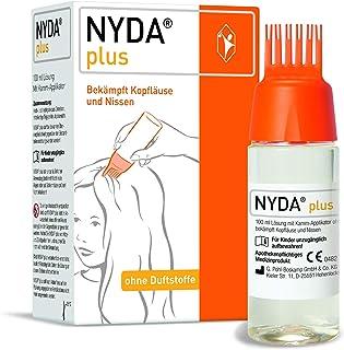 NYDA plus - schnell und effektiv gegen Kopfläuse und Nissen, ohne Duftstoffe und kosmetische Zusatzstoffe, 100 ml