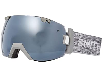 Smith Optics I/OX (Cloud Grey/Chromapop Sun Platinum Mirror/Chromapop Storm Yellow) Snow Goggles