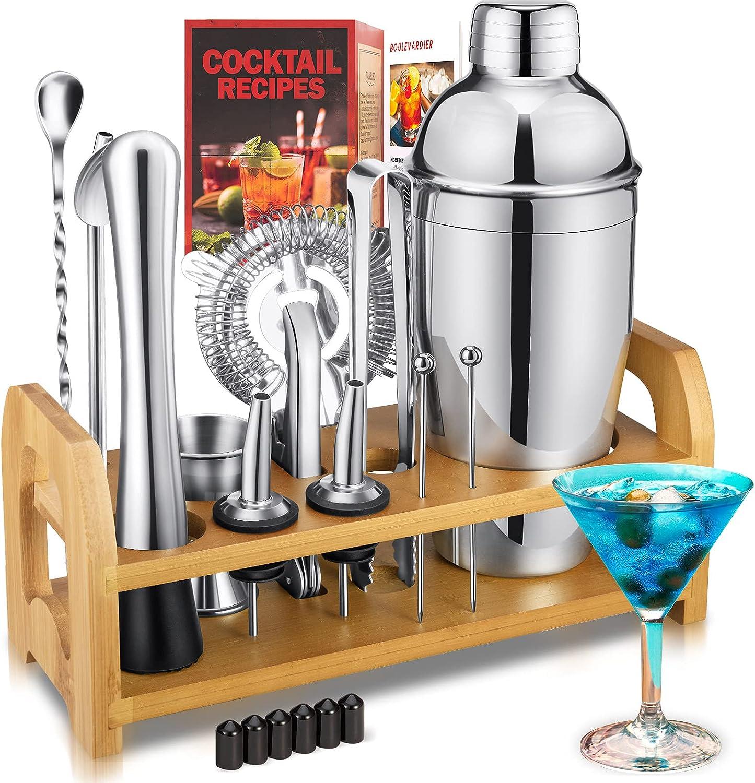 Cocktail 25% OFF Shaker set 15-Piece Set Max 75% OFF Kit Bartender