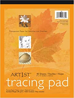Pacon Art1st Tracing Paper Pads 9 in. x 12 in.