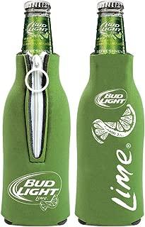 Bud Light Lime Bottle Cooler -Zippered Set of 2
