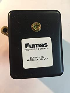 with Unloader and On//Off Lever Midwest Control 69JF6LY2C Hubbell Pressure Switch 1//4 FPT 15-25 psi Differential 1//4 FPT 4 Port Manifold 80-100 psi