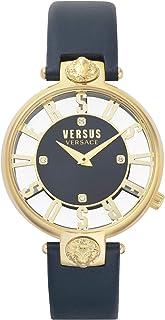 Versus Versace - Reloj Analógico para Mujer de Cuarzo con Correa en Cuero VSP490218