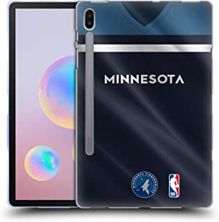 Official NBA Road Jersey 2018/19 Minnesota Timberwolves Soft Gel Case Compatible for Samsung Galaxy Tab S6 (2019)