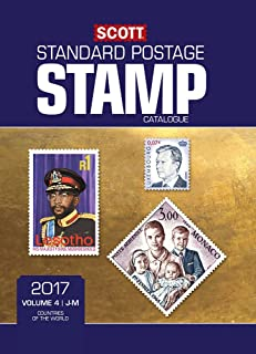 Scott 2017 Standard Postage Stamp Catalogue, Volume 4: J-M: Countries of the World J-M (Scott Standard Postage Stamp Catalogue: Vol. 4: Countries of)