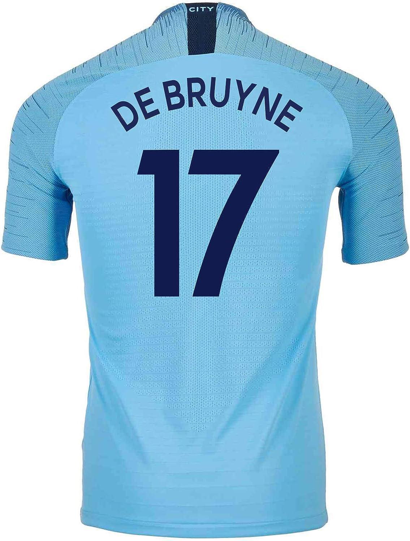 Nike DE BRUYNE  17 Manchester City Home Soccer Men's Jersey 201819