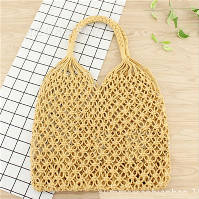 Frauen Stroh Bali Strand Taschen 100% Handarbeit Gewebt Handtaschen Wicker Gestrickte Sommer Taschen B07DX2P6B3  Stimmt