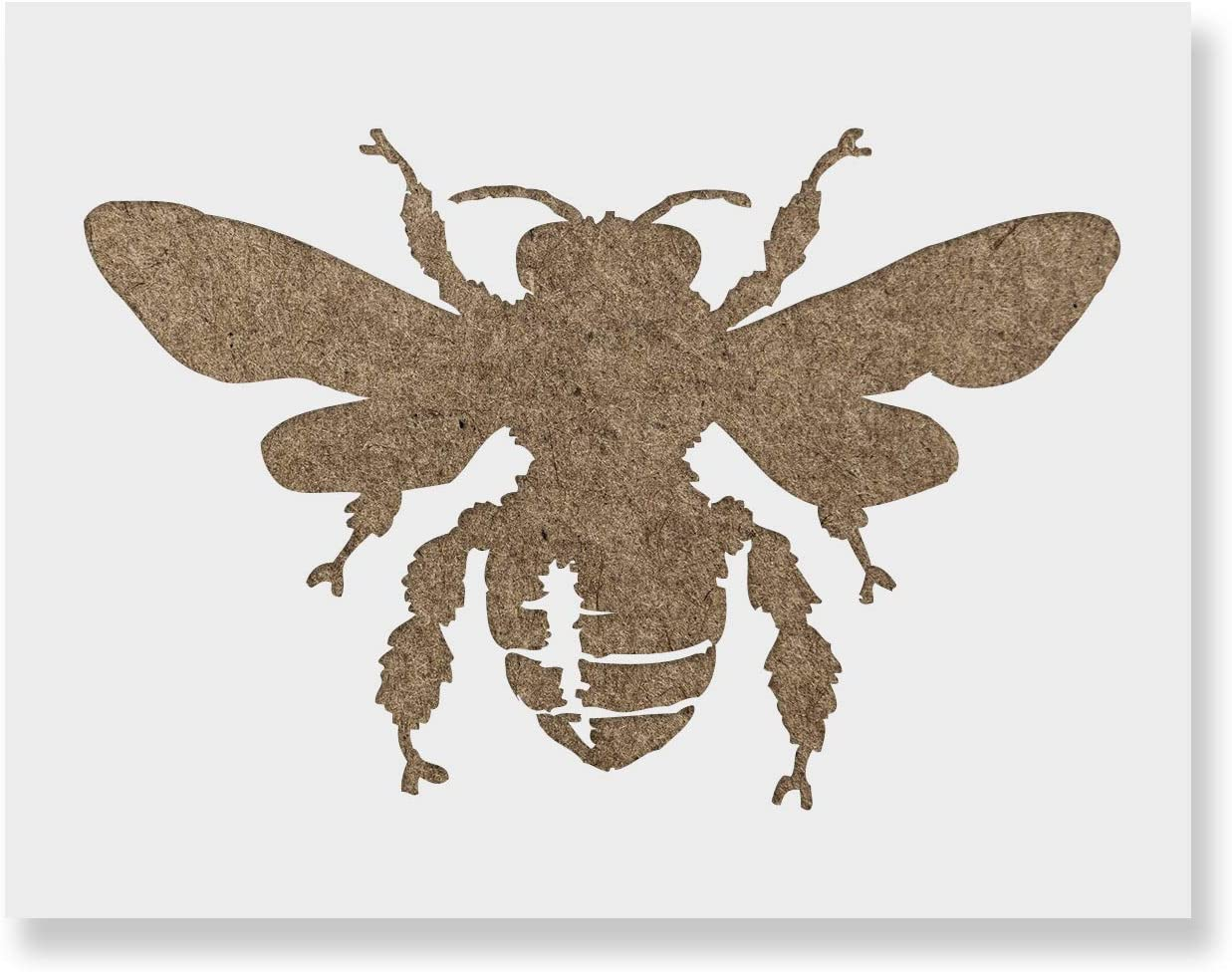 Bee Stencil - Portland Mall Ranking TOP12 Reusable Mylar Painting Stencils for