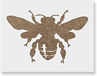 Bee Stencil Template - Reusable Stencil with Multiple Sizes Available