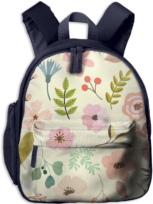 Lightweight Kids School Summer Flowers(1351) Backpack