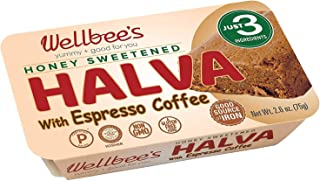 Wellbee's Honey Halva - Paleo & SCD Approved - No Additives, Refined-Sugar, or Artificial Sweeteners - 75g Each - 3 Pack (...