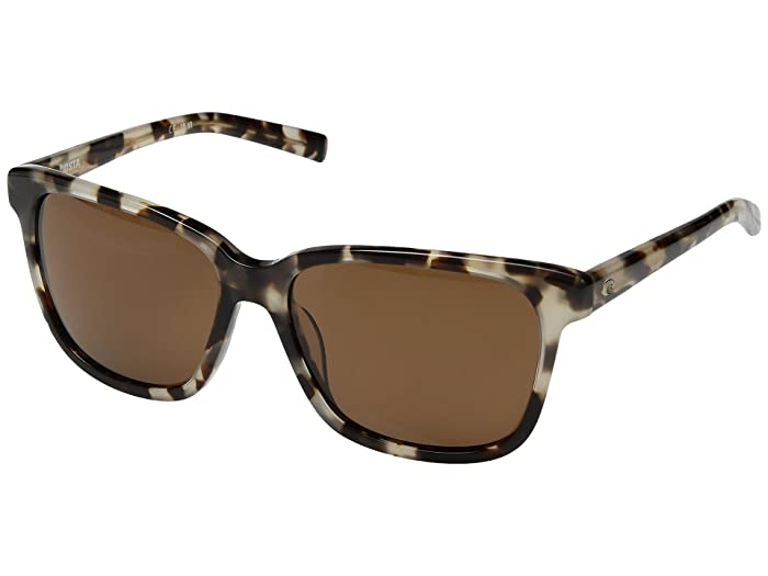 Costa  May (Shiny Tiger Cowrie Frame/Copper 580G) Athletic Performance Sport Sunglasses