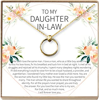 Best to my daughter in law necklace Reviews
