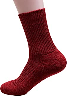 100% Pure Wool Ankle Sock With Insulating Terry Sole