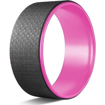 GOOGIC Sports Yoga Wheel Comfortable Yoga Prop Wheel Yoga Wheel Roller for Improving Your Yoga Poses