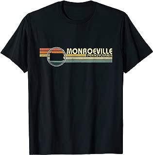 Vintage 1980s Style Monroeville, PA PennsylvaniaT Shirt T-Shirt