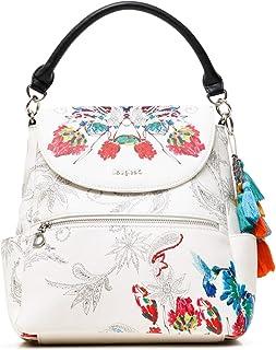 Desigual Womens PU Backpack MEDIUM, White