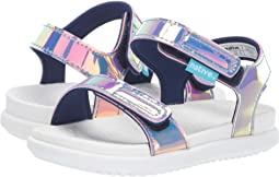 Pink Hologram/Shell White