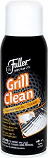 Fuller Brush Grill Cleaner - Non Toxic & Heavy Duty Foaming Spray for Cleaning Oven, Grilling Griddle & Iron Plate - Safe & Easy Grease Remover for Clean BBQ Racks & Grills