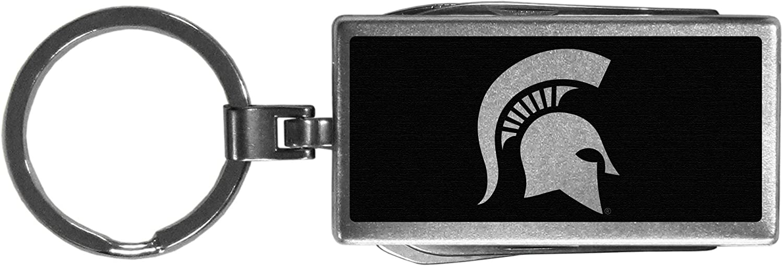 Black Siskiyou NCAA Unisex Multi-Tool Key Chain