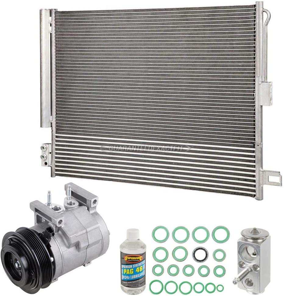 For Jeep Grand Cherokee Max New Orleans Mall 46% OFF 2016 OEM Condenser Drier w AC Compressor