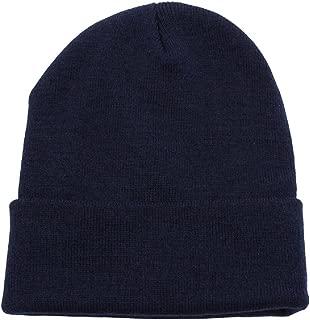 JMR Cuffed Knit Beanie Warm Hat Men Women - Unisex Winter Thick Skull Cap