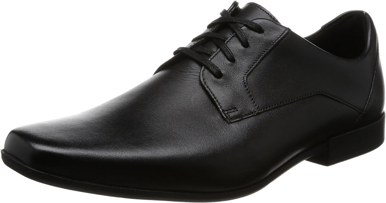 Clarks Glement Lace, Zapatos de Cordones Derby Hombre