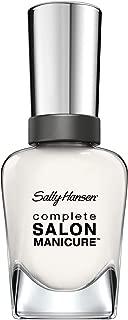 Sally Hansen Complete Salon Manicure™ - Let's Snow, A Pure White Nail Polish