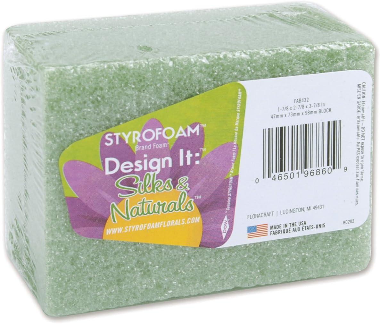 FloraCraft Styrofoam Block: 1.9