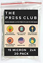 15 Micron | Premium Nylon Tea Filter Press Screen Bags | 2