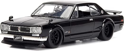 Jada Toys Fast & Furious 1:24 Nissan Skyline 2000 GTR 1 Brian's, Black